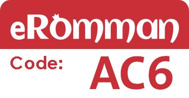 eRomman promo code